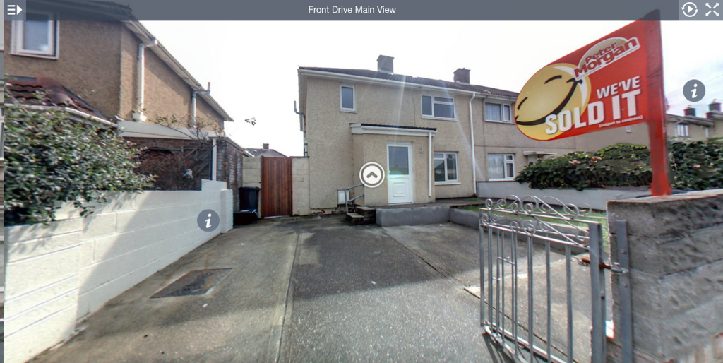 360 Virtual tours of properties as undertaken by G Marketing Solutions Swansea