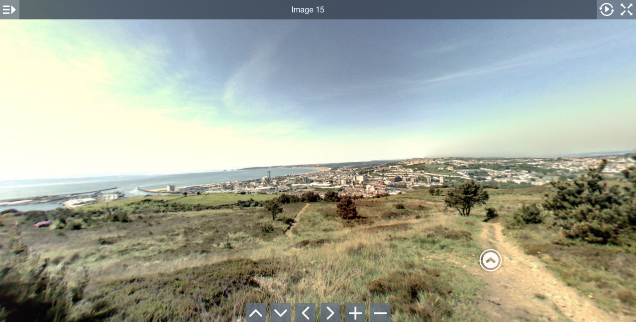 360 virtual tours in Swansea with G Marketing Solutions. Imagery of the Kilvey Hill Swansea views by G Marketing Solutions