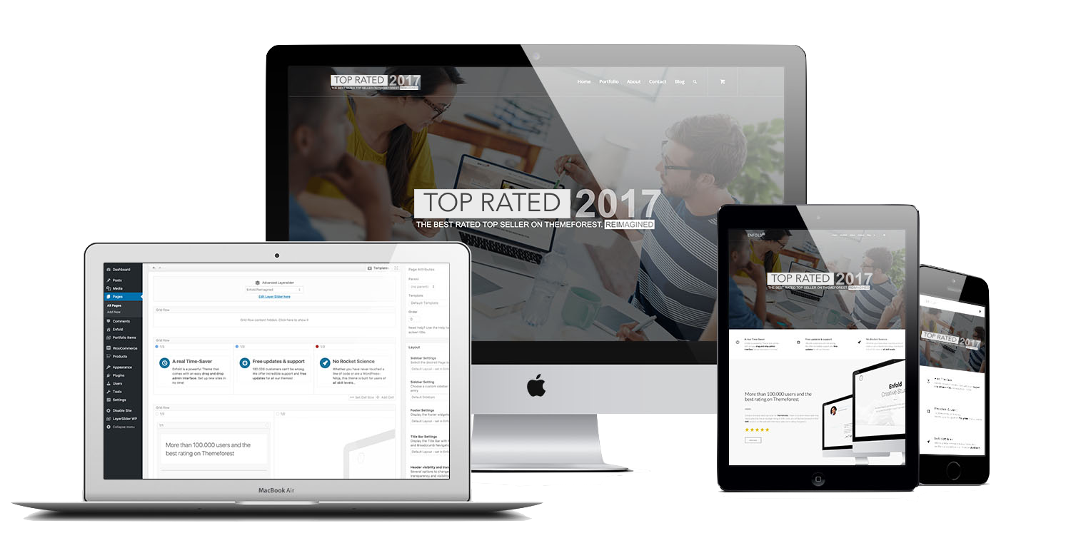 We create top rated websites and work alongside you to make the most of your businesses.