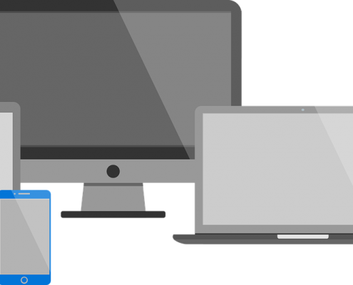 desktop, tablet, mobile responsive web design swansea
