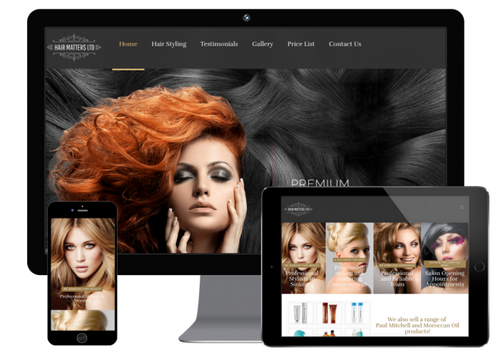 Hair Salon Web Design & Development